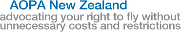 AOPA New Zealand - advocating your right to fly without unnecessary costs and restrictions